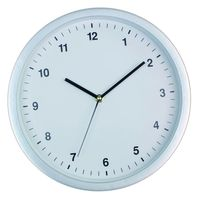 12inch Simple design quartz wall clock white round clock