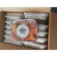 Retail Packaging Aluminum Foil Container with Hot Shrink Packaging thumbnail image