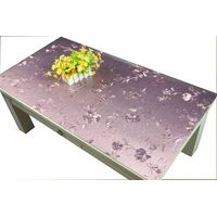 Hot sale in Russia EVA Nontoxic environmental style Metallic Tablecloth