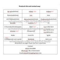 selling BK eutylone etizolams 5cladb 4f adb mfpep whatsapp:+86-17163515620 thumbnail image