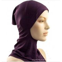 whole sale muslin women hat jersey cotton muslin cap
