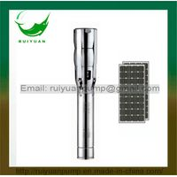 6 Inches 3HP Solar DC Stainless Steel Deep Well Submersible Water Pump (SL6SP17-02/2.2KW)