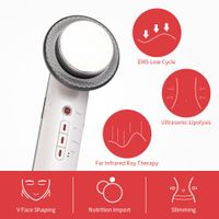 EMS Ultrasonic Three-in-One Massage Apparatus Body Slimming Apparatus Slimming Weight Loss thumbnail image