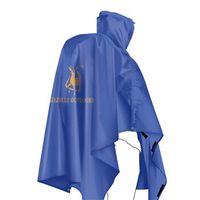 Single person poncho raincoat backpack cover H07 thumbnail image