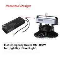 LED Emergency Driver 100-300W for High Bay Flood Light Panel Light Emergency Battery Pack thumbnail image