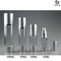 15ml 30ml 50ml 100ml AS plastic airless bottle