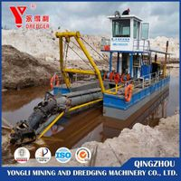New designed  cutter suction dredger  for sale