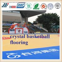 Cn-S04 Environmental Protection Crystal Basketball Spu Flooring