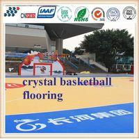 Cn-S04 Environmental Protection Crystal Basketball Spu Flooring thumbnail image