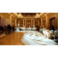 2016 Factory price portable white hotel dance floor