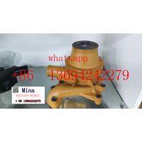 Water Pump 6136-61-1601 for Komatsu Wheel Loader Wa200-1 Engine 6d105 S6d105 thumbnail image