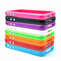 Colourful Silicon Bumper for phone4 4s thumbnail image