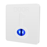 ME3 Plastic Exit Button, PC Push Button for Access Control System