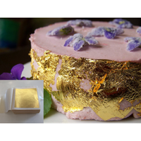 24K Real Gold Leaf dessert decoration edible gold for food decoration