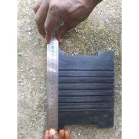 Railway Grooved Rubber Sole Plate for Channel Sleeper thumbnail image