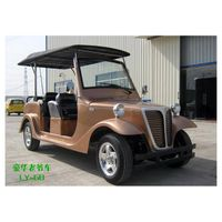 6 seat electric classic car