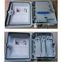 outdoor/indoor FTTH Fiber optic plastic Distribution box 12core PC+ABS