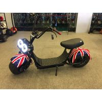 Minion Electric E-scooter Citycoco With Fat Tires 1000W 50km 48k