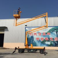 China 12m Self-propelled Articulated Work Platform