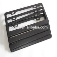 100% Carbon Fiber License Plate Frames
