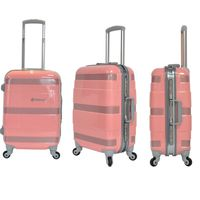 beautiful and colorful trolley luggage for travel