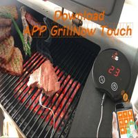 MIEO BBQ Meat Thermometer Bluetooth Touch Screen thumbnail image