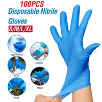 Medical nitrile gloves for Examination