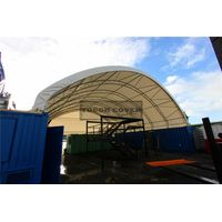 14m(46') Container Mounted Cover Shelter,low budget large space