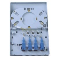 4 core fiber optic termination box or with pigtails