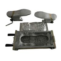 PU Safety Shoe Mould With Aliminum Last PU D.I.PUShoe Mould Fitted on Italian Machine For Making Saf