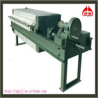 stainless oil mechanical filter press system