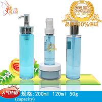 china sale and export plastic pet cosmetic personal skin care 180ml 150ml 120ml 100ml toner lotion m