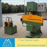 40T abrasive belt joint press machine wide belt pasting machine thumbnail image
