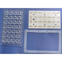 Plastic optical lenses streat lamp lenses