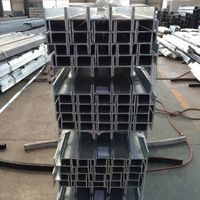 Hot dipped galvanized H column