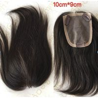 Popular Slik Base Topper Brazilian Human Hair For Cancer Women