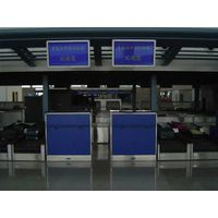 Airport check in counter