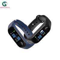 Manufacture High quality Oled Display Type bluetooth smart wristband for outdoor sport thumbnail image