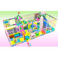 Indoor Commercial Soft Play Equipment for Kids and Baby