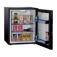 Commercial Glass Door Hotel Refrigerator Cabinet with Shelf