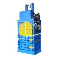 waste car tyre baler baling press machine