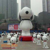 Snoopy cartoon statue,fiberglass crafts