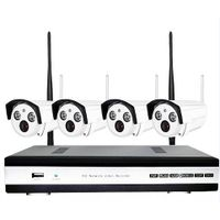 Most cost-effective 4ch wireless camera nvr kit for cctv system
