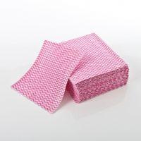 Wavy Spunlace Non-woven Cleaning Cloth dish cloth thumbnail image