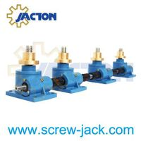 20 ton Machine Screw Jacks Lifting Screw Diameter 65MM Pitch 12MM Ratio 8:1 24:1 Custom Lift Height