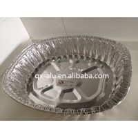 Disposable aluminum foil container pan food use roaster pan aluminum turkey pan
