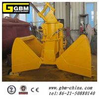 3t Excavator hydraulic clamshell grab for bulk