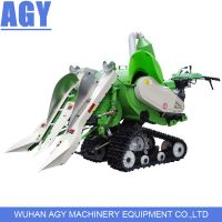 AGY 0.5D diesel engine hand pusing mini price of rice harvester