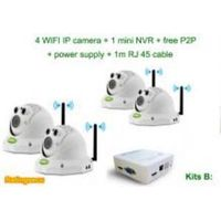 4CH NVR Kits Wireless Cameras