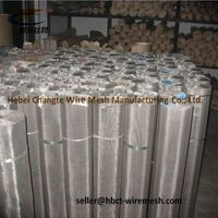 Durable Stainless Steel Wire Mesh Panels Stainless Steel Fine Mesh Screen thumbnail image